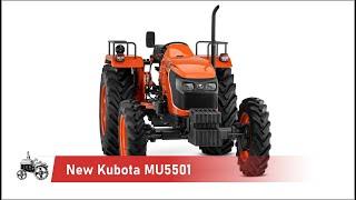 New Kubota MU5501 | Japan agricultural tractors