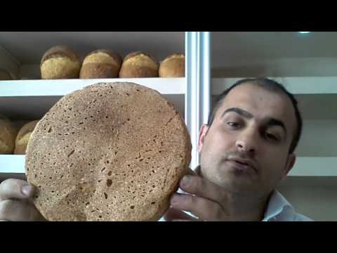 Organik ekmek balat