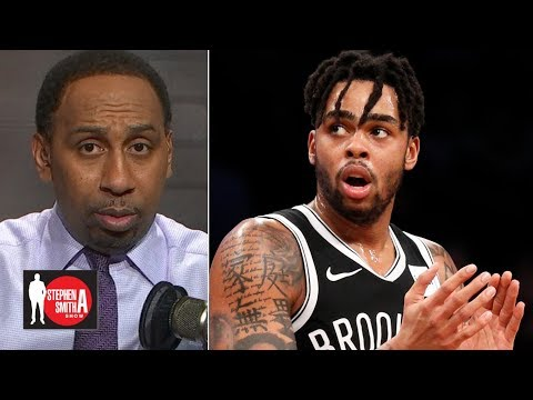 Stephen A. gives props to D'Angelo Russell, Brooklyn Nets | Stephen A. Smith Show