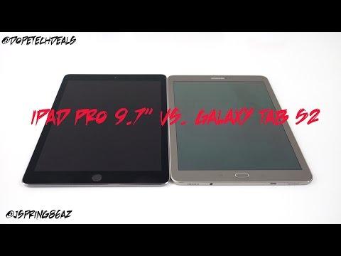 "Apple iPad Pro 9.7"" vs Samsung Galaxy Tab S2 9.7"" Comparison"