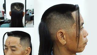 Kiểu tóc ĐINH VUÔNG ĐUÔI NGỰA RÂU RỒNG CÓ 102 TẠI VN (FLAT TOP) - Cắt tóc nam đẹp - Chính Barber