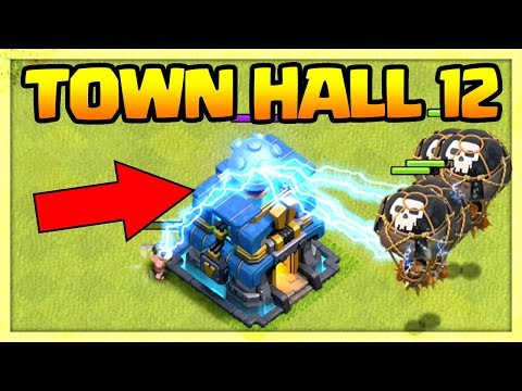 TOWN HALL 12 IS A WEAPON! Clash Of Clans TH12 Giga Tesla GAMEPLAY