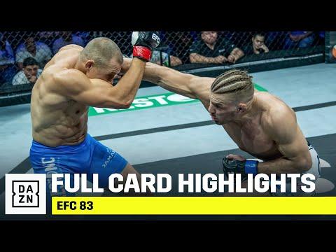 FULL CARD HIGHLIGHTS   EFC 83