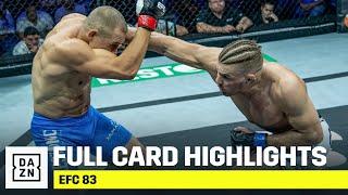 FULL CARD HIGHLIGHTS | EFC 83