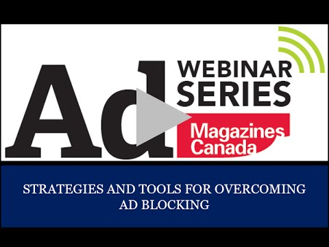 Webinar: Strategies and Tools for Overcoming Ad Blocking