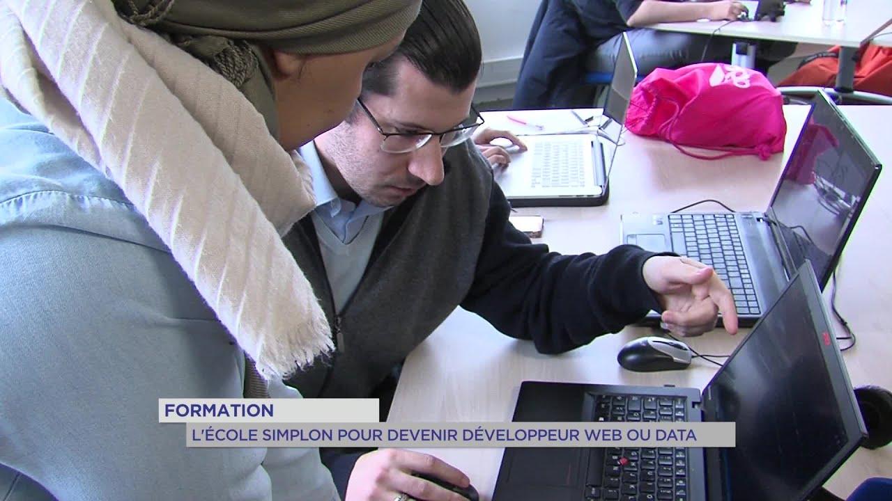 Yvelines | Formation : L'école Simplon pour devenir développeur web ou data