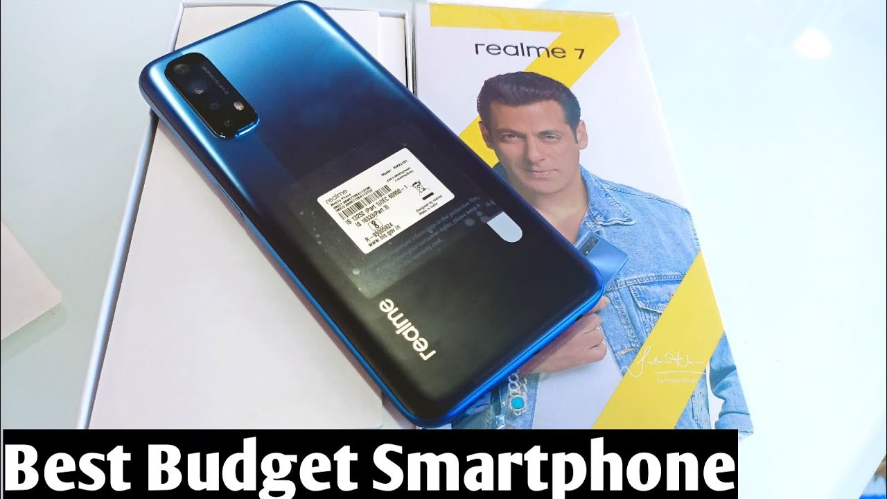 Realme 7 Mist Blue Unboxing & First Impression !! Realme 7 Price , Specifications & Many More 🔥 🔥 🔥