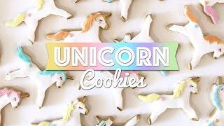 Unicorn Cookies Tutorial