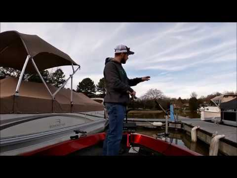 Winter Crappie In Muddy Water