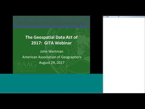 2017 0829 Geospatial Data Act 2017
