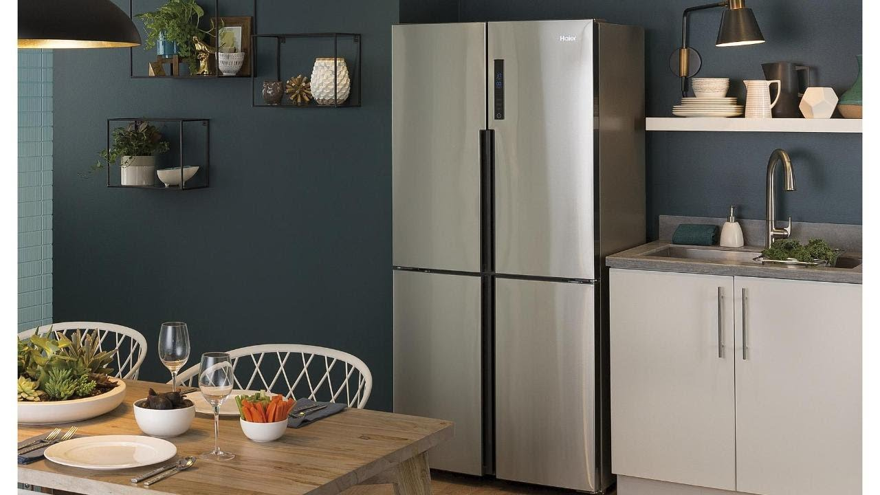 Haier Hrq16n3bgs Counter Depth French Door Refrigerator Review Youtube