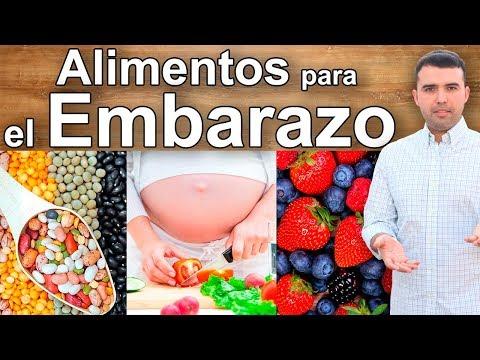 Alimentos Que TODA EMBARAZADA DEBE COMER - 8 Mejores Alimentos Para El Embarazo