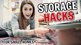 Clever Storage Hacks For Keeping Small Homes Organized
