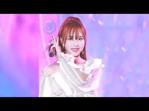 [4K] 181201 GUAM K-POP CONCERT YES or YES 트와이스 미나 직캠 twice mina fancam