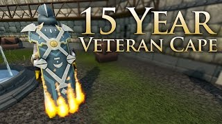 RuneScape: 15 Year Veteran Cape - 1080p 60fps
