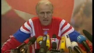 Wutausbruch von Trap als Bayern Trainer
