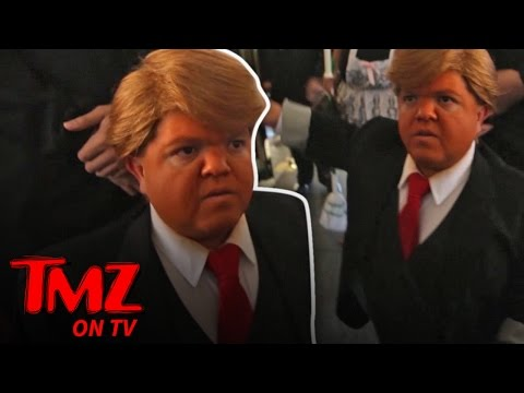 Mini-Trump Storms Trump Hotel! | TMZ TV