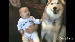 Подборка Приколов про Собак и Детей! Смотри УЛЕТНОЕ ВИДЕО!!!
