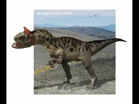 Tribute to Cryolophosaurus