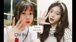 | Thách đấu Muvik #12 | Linh Ka vs Chi Bé || Yeww MUVIK