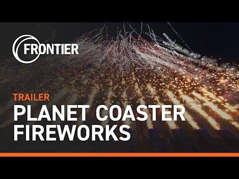 Planet Coaster - Fireworks Trailer