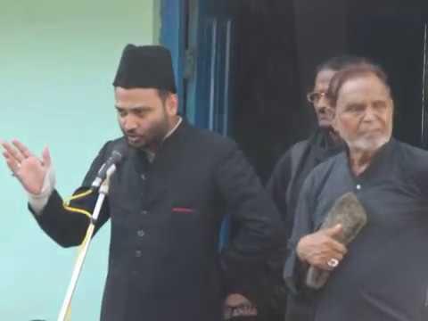 Juloose Aza 25 muharram 1440 Hijri | Majlis By Maulana Masoom Raza Kaifi Sahab | Bhadi, INDIA