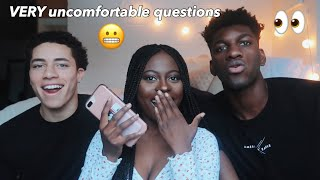 asking college boys questions girls are too scared to ask! *EXPLICIT!*