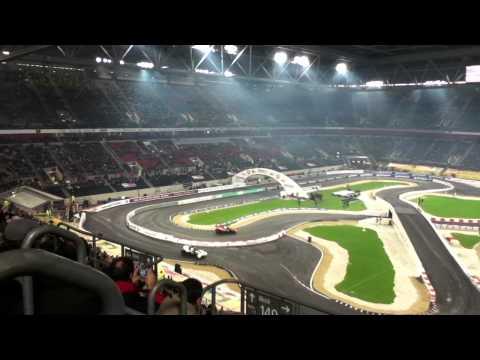 Race Of Champions 28.11.2010 - Halbfinale: Sebastian Vettel vs. Filipe Albuquerque