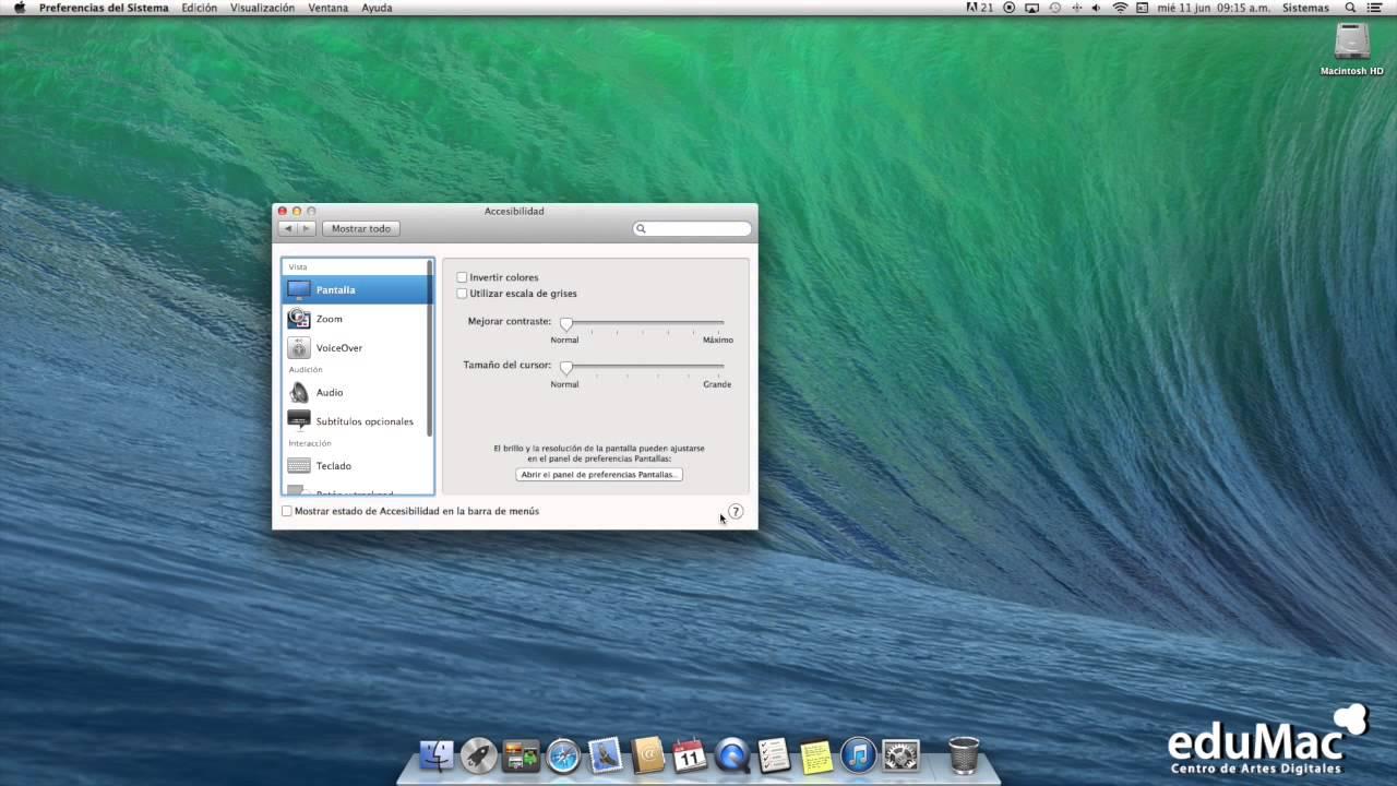 Cómo activar el zoom del mouse en tu Mac