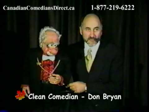 Don Bryan - CLEAN COMEDIAN and VENTRILOQUIST