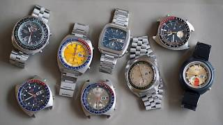 """Definitive Guide to Vintage Seiko Chronographs"" - What Makes Them Tick with Paul Dee"