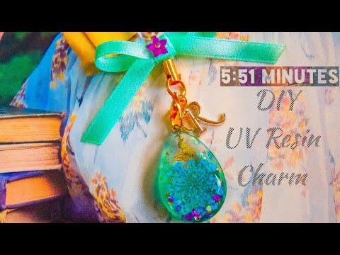 DIY UV RESIN CHARM!✨ DIY Accessories/ DIY Tutorial /Create and Style/ DIY Philippines/ DIYbyRuffa