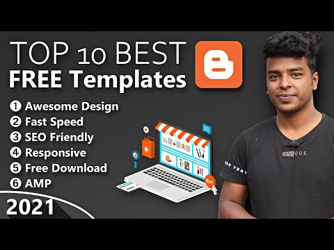 TOP 10 Best FREE Blogger Templates of 2021
