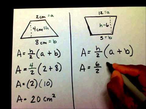 Trapezoid: Area