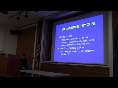 Dr. Baron Emergency management of penetrating neck trauma
