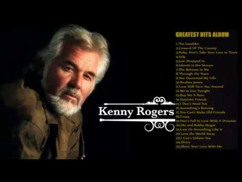 Kenny Rogers Greatest Hits Full album - -The Best Songs Of Kenny Rogers Nonstop Playlist