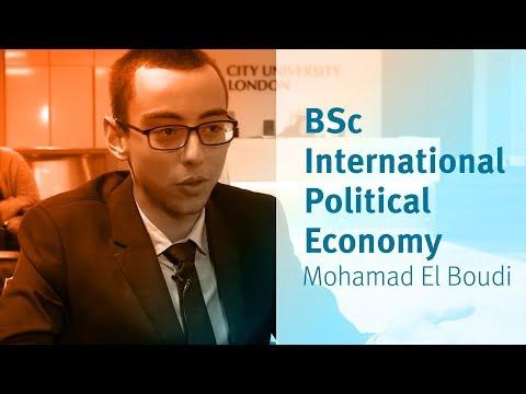 BSc International Political Economy at City University London