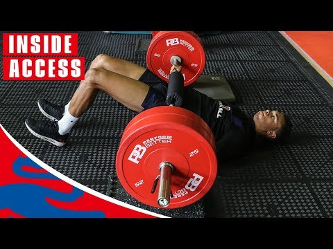 England Hit the Gym Before Facing Panama! | Inside Access | World Cup 2018