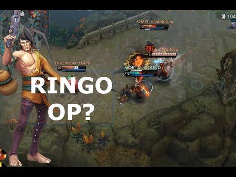 RINGO STUTTER STEPPING GOD? Vainglory 5v5