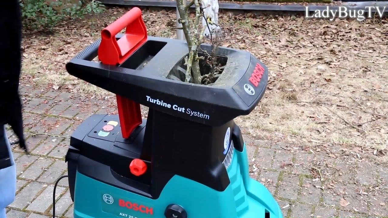 Bosch Axt 25 Tc Turbine Cut System Practical Use Youtube