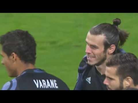 Gareth Bale Goal Legia Warsaw vs Real Madrid 0-1 Champions League 11/2/2016