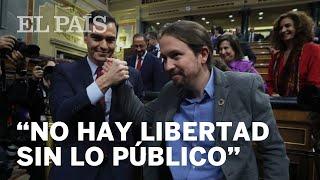 INVESTIDURA | Pablo Iglesias defiende el nuevo Gobierno