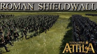 Shield Wall For Roman Infantry! Sorry, CA. - Total War Attila Mechanics