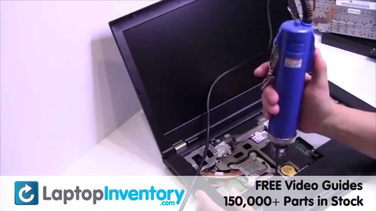 IBM Lenovo T420 T410 Fan Motherboard Replacement Thinkpad | Heatsink Laptop  Install Replace #1