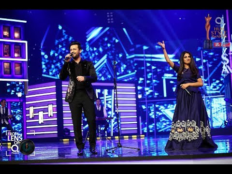 Atif Aslam & QB Tribute To Abida Parveen & Nusrat Fateh Ali Khan At Hum Style Awards 2017