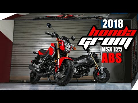 2018 all new honda grom 125 abs overview and price msx. Black Bedroom Furniture Sets. Home Design Ideas