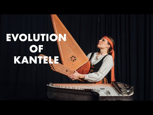 Ida Elina - Evolution of Kantele (Finnish Harp)