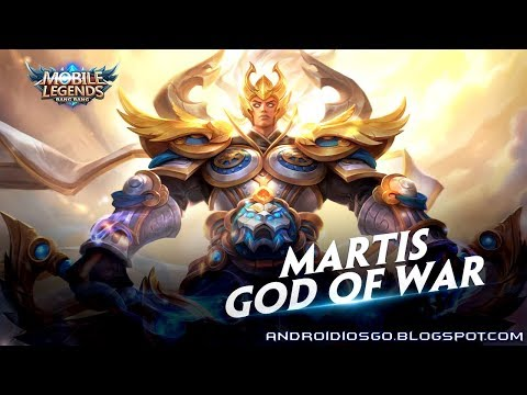 Mobile Legends: New Skin - Martis God Of War Gameplay Android/iOS