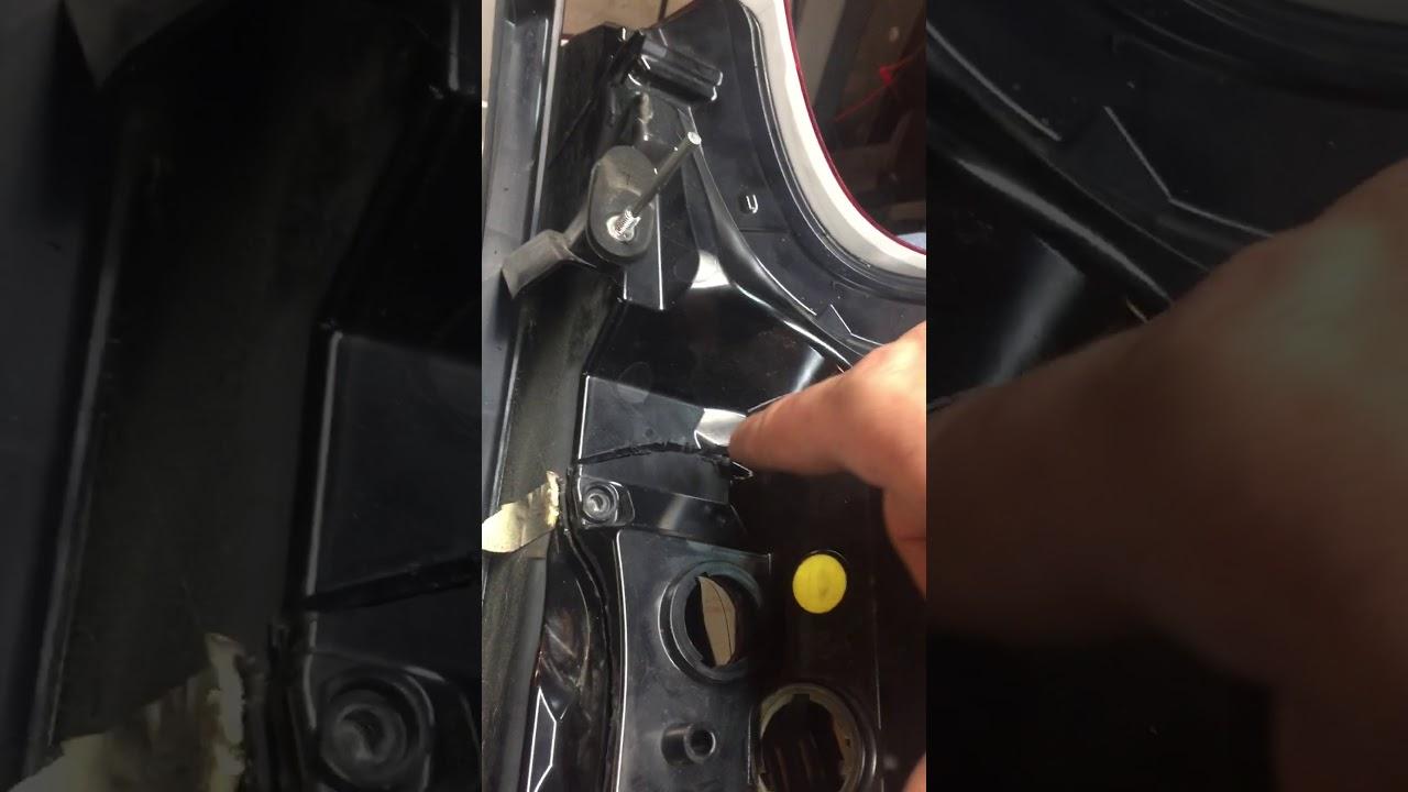 Volvo Xc90 Led Tail Light Repair  Tear Down