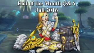 Live Subscriber Q&A - July 2016 [ Lore]